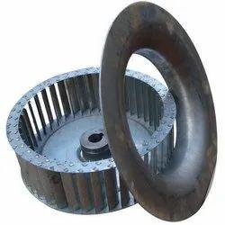 Galvanized Steel Blower Wheel