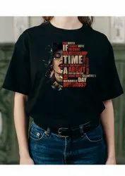 Shopway Half Sleeve printed t shirt for girls