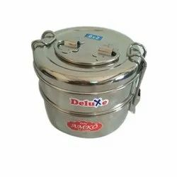 2 Layer Stainless Steel Tiffin Box