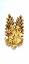 Anand Crafts Gold Plated Radha Krishan Ji