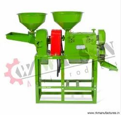 1RK100 Combined Saller Rice Mill Machine With Hammer Mill