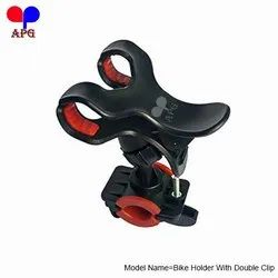 Bike Holder With Double Clip