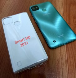 TPU Infinix Smart HD 2021 Transparent Mobile Back Cover