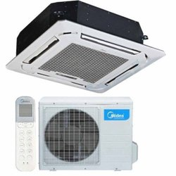 MCAC18RY2C2 2 Star MIDEA CASSETTE AC, Cooling Capacity: 230 Kw, Single Phase