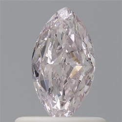 Marquise 0.50ct Very Light Pink SI1 GIA Certified Natural Diamond