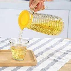 1000 Ml Juice Jug With Set Of 2 Glass & Drink Glass Mug With Jug Glass Jar