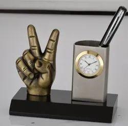 Silver Metal Desktop Corporate Gifts