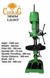 Chirag Sm 38mm Light Duty Drill Machine, 3 Phase