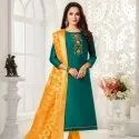 Designer Cotton Silk Dress Material