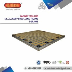OM KAILASH STAINLESS STEEL JAGGERY MOULDS 5 GRAMS