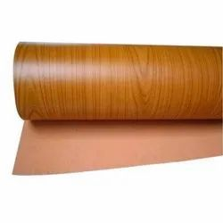 Brown Printed 120 GSM Sunmica Paper Plate Raw Material, Packaging Type: Roll