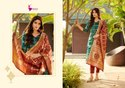 Designer Banarasi Ladies Suit Material