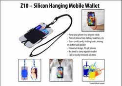 Z-10 Silicon Hanging Mobile Wallet