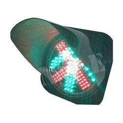 Cross LED Traffic Signal Light