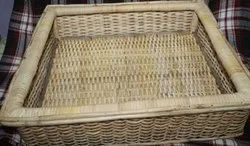 Cane Basket, For Household, Size: 17x15x6 Inch
