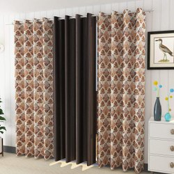 Printed cottan  home furnishing curtain