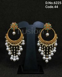 Traditional Handmade Chandbali Earrings