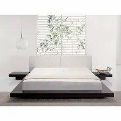Vasavi Teak Wood Wooden Platform Bed, Size: 6 X 6.6 Feet