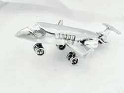 Silver airplane toy, For Personal, Free