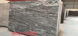 Slab Viscon White Granite, Thickness: 20-25 mm