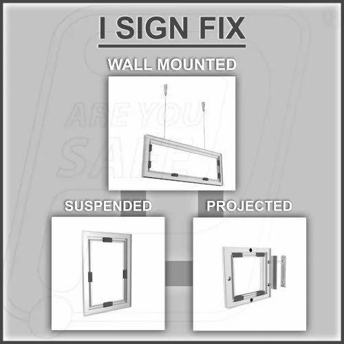 Profile & modular Signage