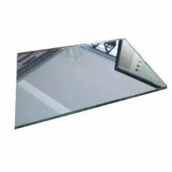 Plain Mirror Glass, For Decoration, Size: 4* 3 Feet (l*b)