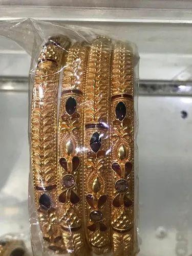 Gold 40 bangles designs gram 22K Gold