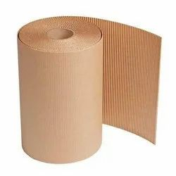 Brown Kraft 2 ply carogated Roll
