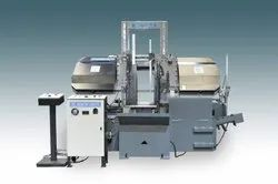 ITL-300X700 LMGTV Ring Cutting Horizontal Double Column Band Saw Machine