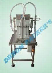 2 Head Liquid Filling Machine