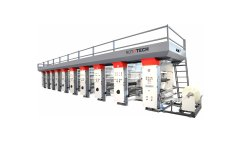 Four Colour Rotogravure Printing Machine
