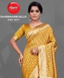Apple Dharmavaram Silk Delux Designer Saree Catalog