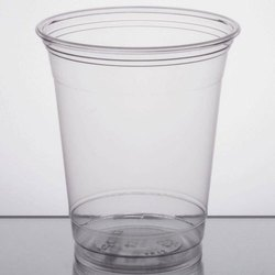 Transparent 235 mL Plastic Disposable Glass