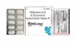 Dicyclomin 10mg Mefenamic 250mg
