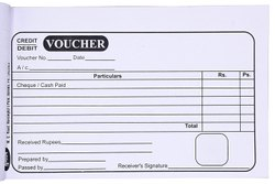 Paper Voucher Book Printing, For Advertisement, in India
