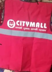 Non Woven Red Promotional Jacket, Size: Standard