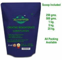 Lemon Flavour Creatine Monohydrate Powder