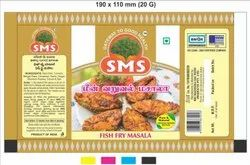20 G SMS Fish Fry Masala, Packaging Type: Box
