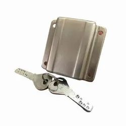 For Security Silver Brass Drawer Lock
