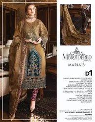 Salwar Chiffon Maria B Embroidered