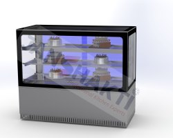 Pastry chiller cabinet - Flat Glass