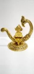Anand Crafts Gold Plated Ganesh Ji Statue