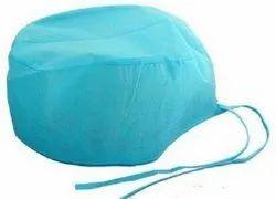 Blue Cotton Surgeon Cap