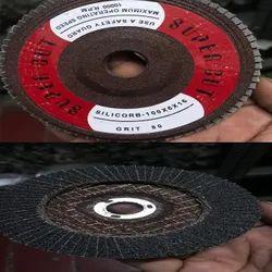 Round Rubber Super Cut Flap Disc Wheel, Size: 100 X 6 Mm, 80 Grit