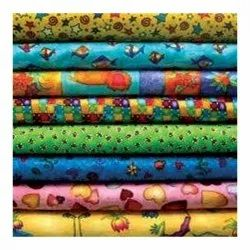For Gown Printed Cotton Fabrics Digital Printing Services