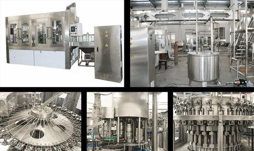 Automatic Carbonated Soft Drinks Plant