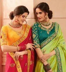 Kessi Amber Traditional Wear Banarasi Silk Saree Catalog