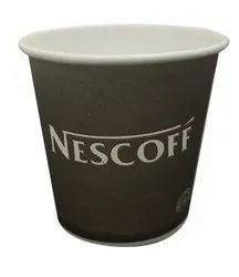 Brown Paper 85 ML Long Disposable Coffee Cup, For Parties