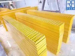 FRP Solar Walkways Grating 38 x 75