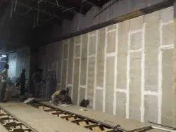 Wall Paneling Work